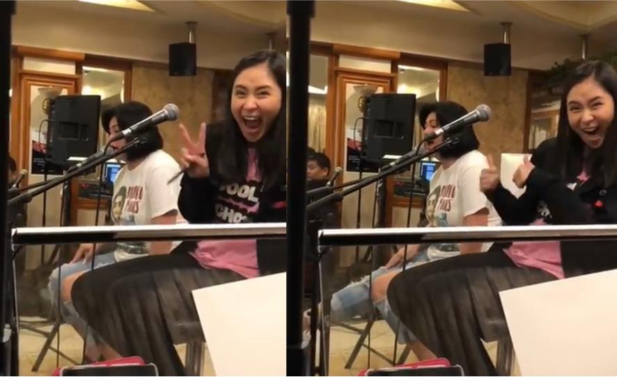 Netizens express nostalgia after video of Sarah 'fangirling