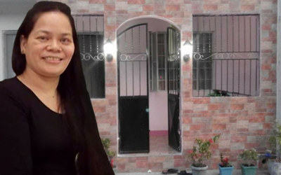 Pinay now owns a place she can call home after 3 years abroad