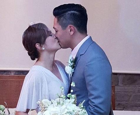 Nikki Valdez ties the knot with non-showbiz boyfriend in Hong Kong