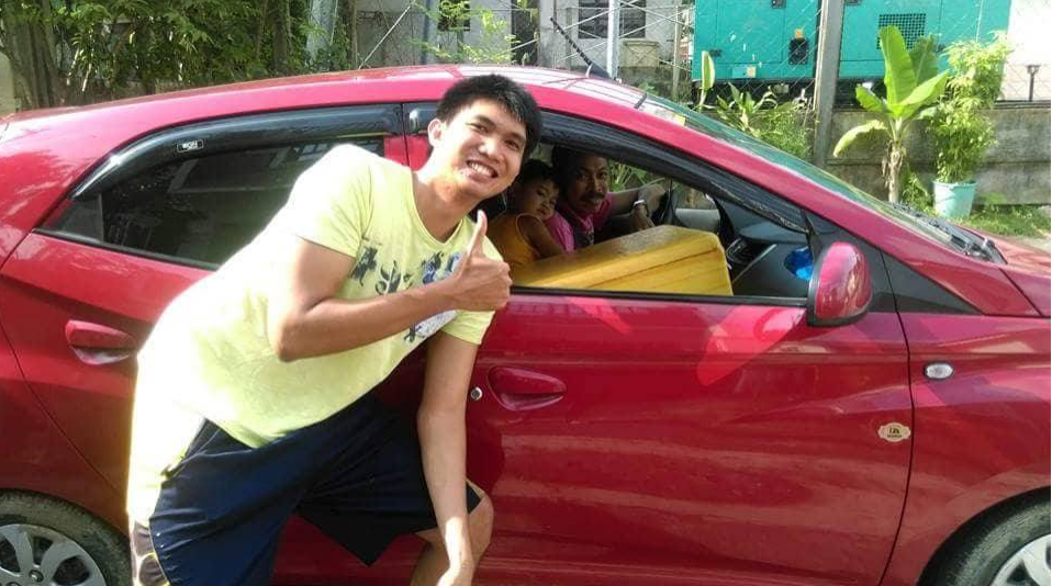VIRAL: Panadero drives around car to sell bread
