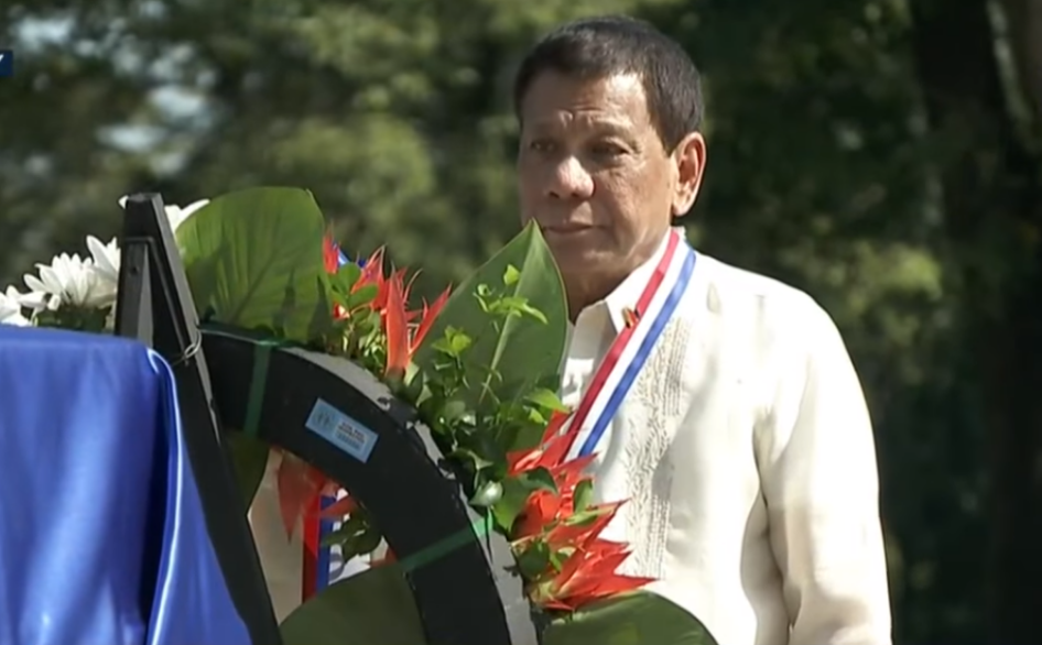 Duterte salutes OFWs on National Heroes Day