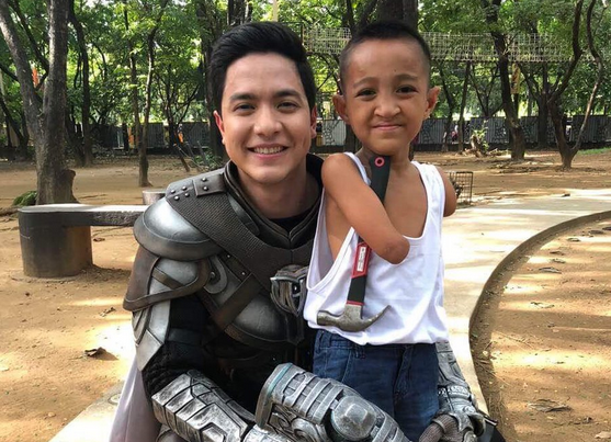 Alden Richards sponsors 8-year-old fan's schooling