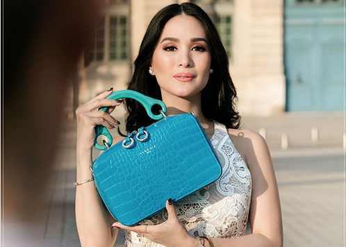 LOOK: French designer bag label introduces Heart as new endorser