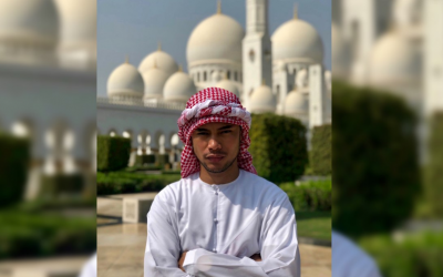 LOOK: Bugoy Drilon channels inner Arab royalty in these photos taken in UAE