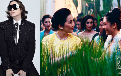 """Michael Cinco is proud to be a Filipino designer after creating Kris Aquino's gown in """"Crazy Rich Asians"""""""