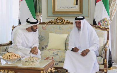 UAE President receives Mohamed bin Zayed in Evian