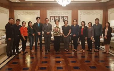 PH Ambassador to the UAE arrives in Abu Dhabi