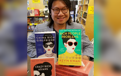 """Crazy Rich Asians"" author thanks Filipinos for supporting film adaptation of his novel"