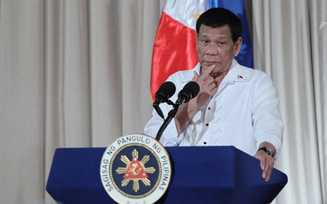 President Duterte considers resigning due to rampant corruption