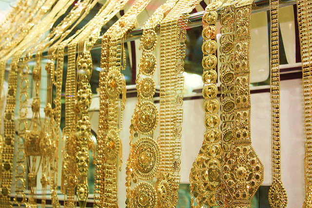 Gold prices now Dh5 per gram cheaper than last month