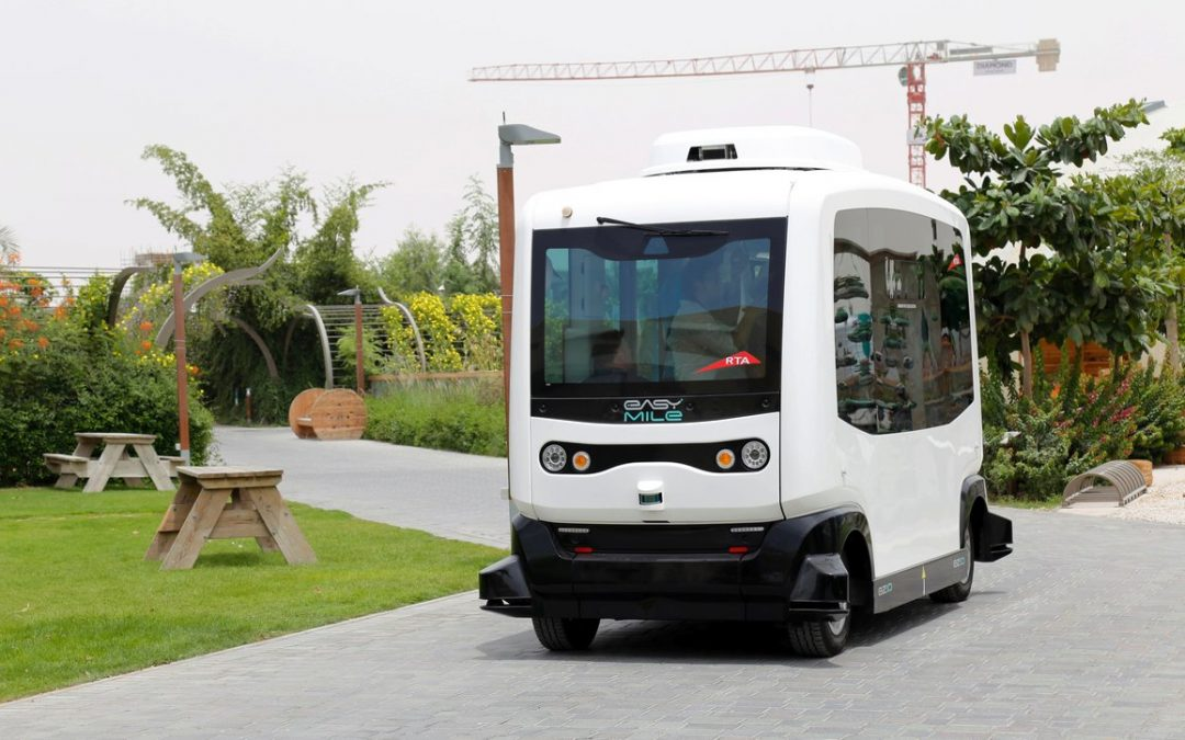LOOK: Driverless vehicle tested in Dubai