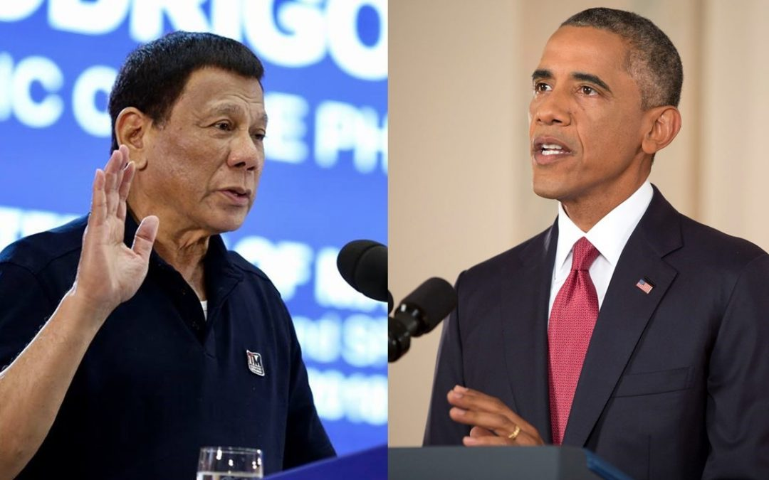Duterte to Obama: Forgive me, I forgive you