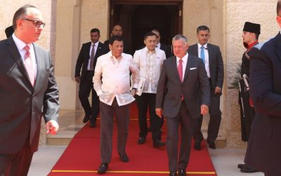 Duterte signs labor deals with Jordan to protect OFWs