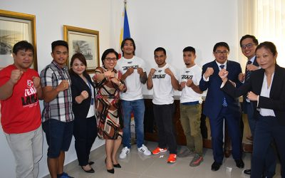 Three Filipinos to fight in Brave 16 MMA showdown
