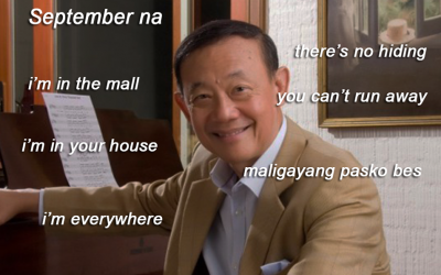 Jose Mari Chan memes flood netizens on the first few days of September