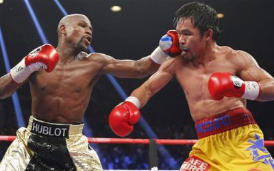 "Floyd Mayweather says he's ""coming back to fight Manny Pacquiao"""