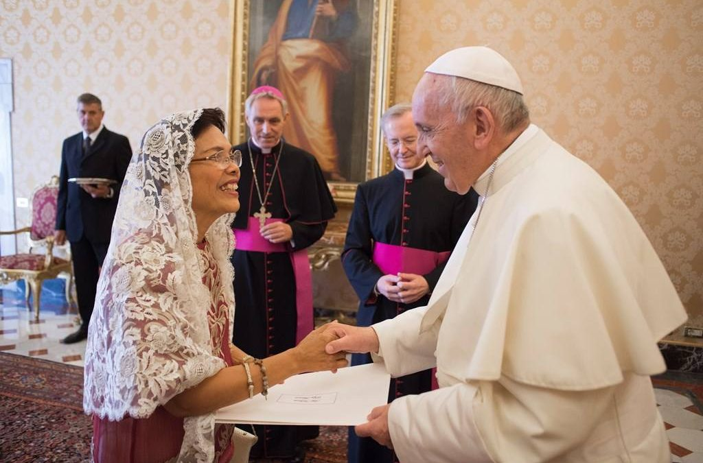 Former Philippine Ambassador to the UAE begins diplomatic mission to the Holy See