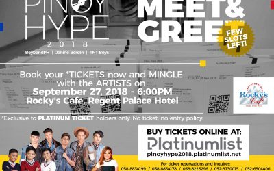 Get up close and personal with TNT Boys, BoybandPH, and Janine Berdin!