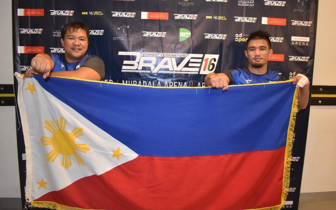 Filipino fighter Jon Chris Corton bags debut win in Brave 16