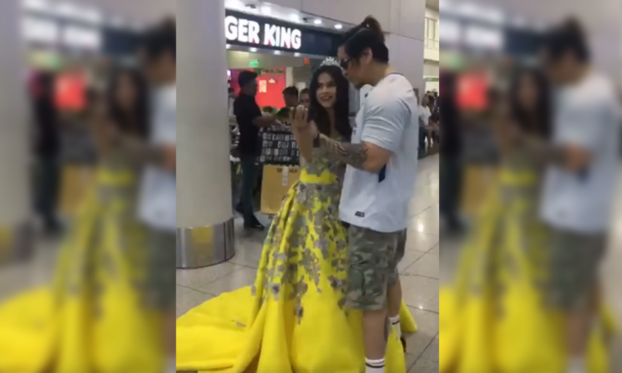 EXCLUSIVE: OFW father-daughter heartwarming dance at NAIA goes viral