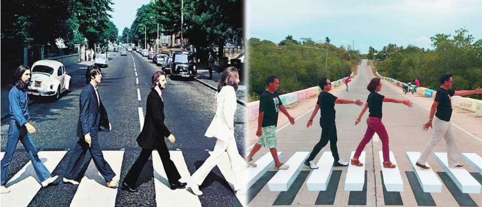 LOOK: Bohol creates local version of Abbey Road