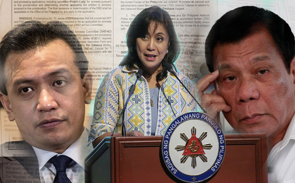 Trillanes amnesty revocation is admin's diversionary tactic—Robredo
