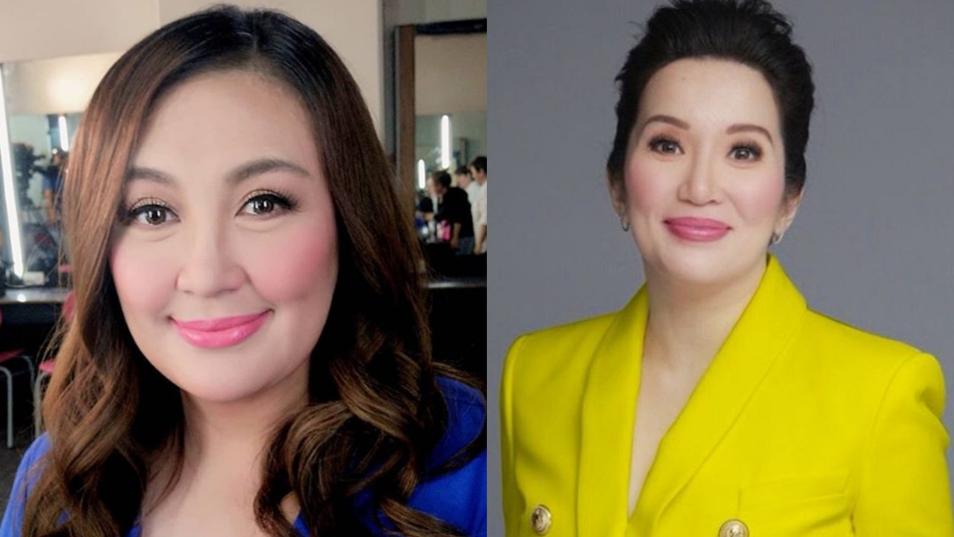 Sharon Cuneta brushes off comments that her friendship with Kris Aquino is fake