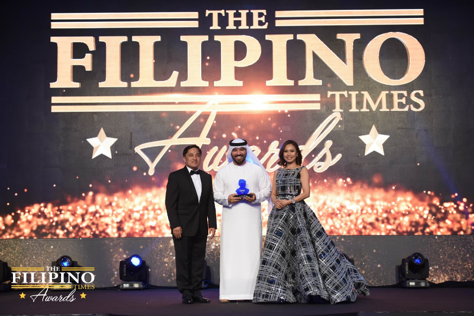 Emirati vlogger Khalid Al Ameri proudly shares his TFT 'Personality of the Year' award to Filipinos in UAE