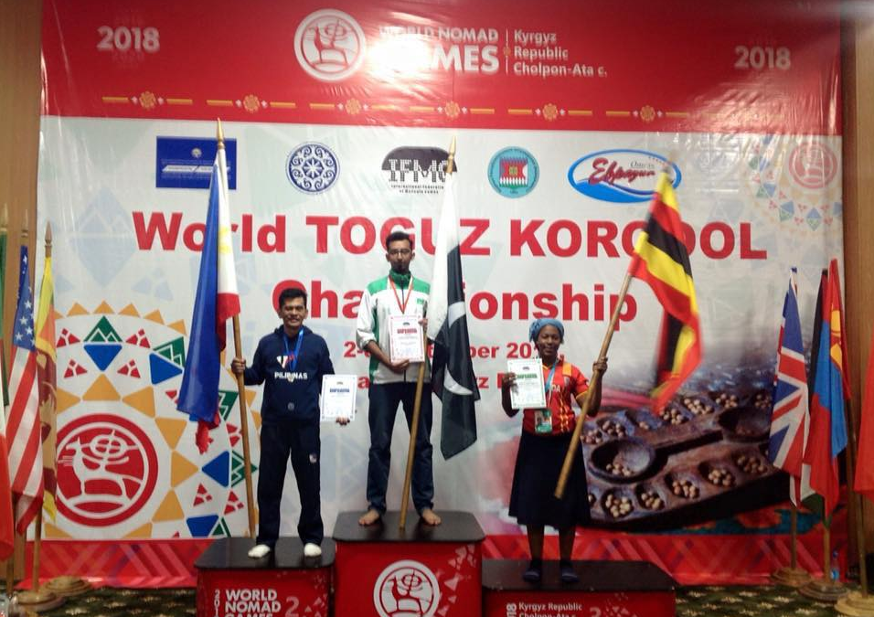 PH representative wins 2 medals in World Nomad Games