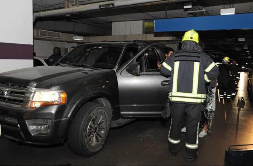 Abu Dhabi Police save girl trapped in vehicle
