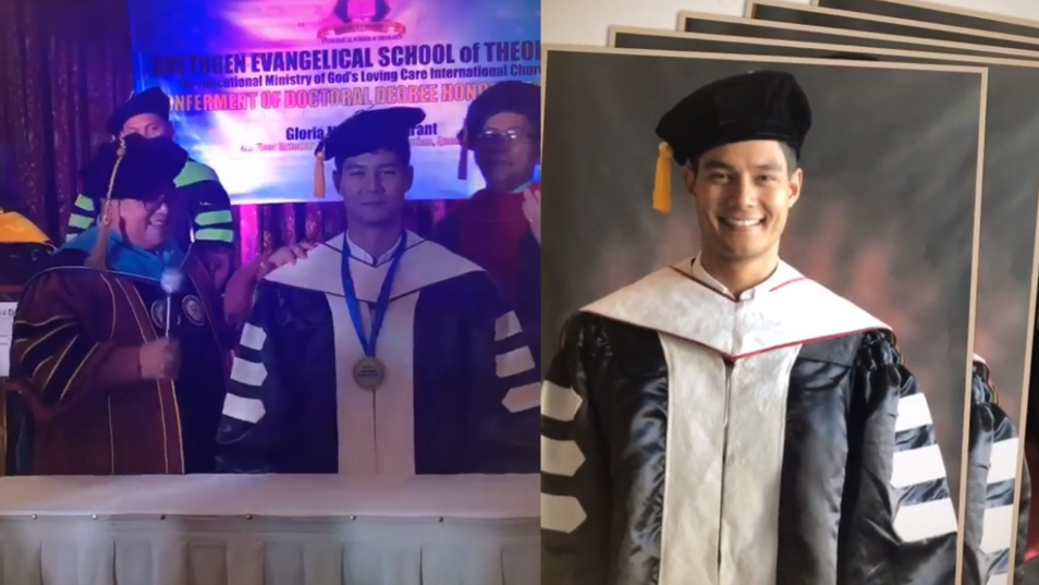 Daniel Matsunaga's honorary degree is invalid, CHED says