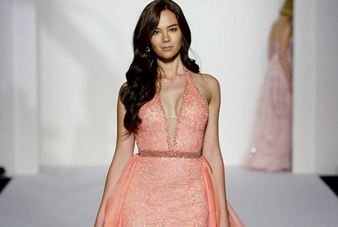 Miss Universe receives backlash for letting Catriona Gray walk in Sherri Hill fashion show
