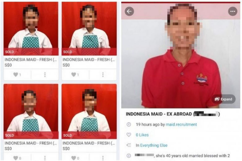 Online selling of domestic workers in Singapore sparks rage