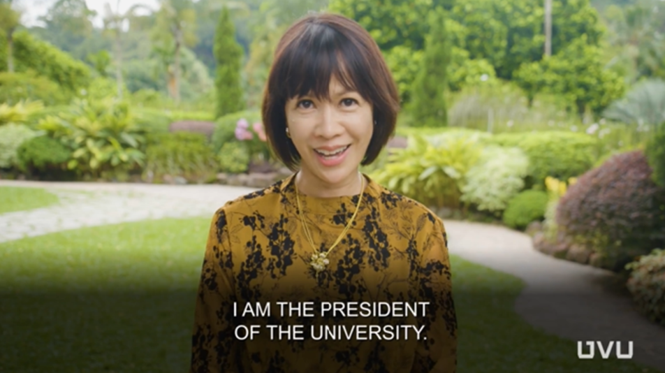 WATCH: First Filipina president of Utah Valley University tells life story in 6 languages