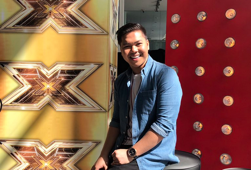"Rhap Salazar says his audition was not aired on ""X Factor UK"""