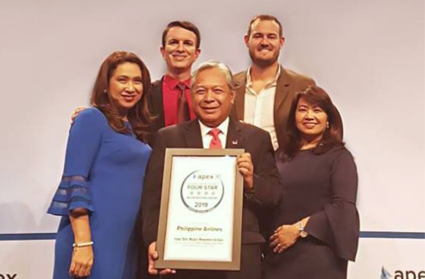 PAL earns 4-Star in APEX Expo, grants privilege to Pinoy soldiers