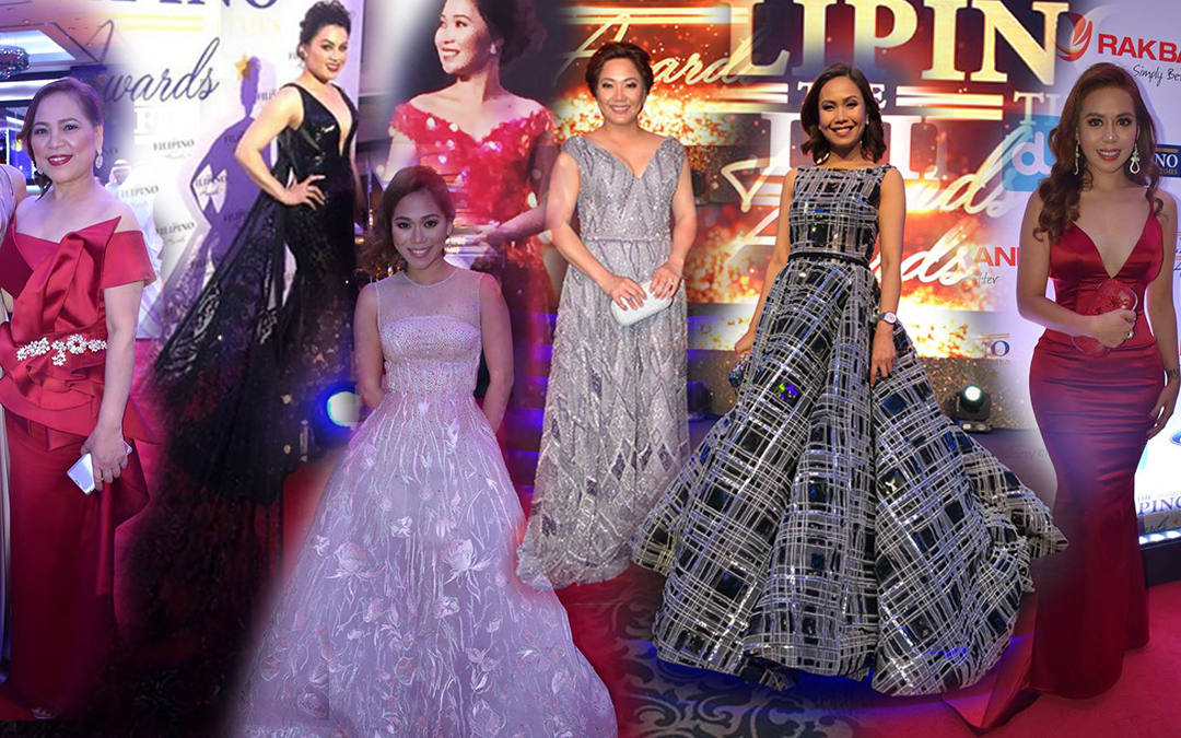 Pinoy fashionistas glam up at The Filipino Times Awards 2018