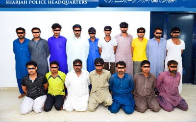 Asian gang nabbed by UAE police