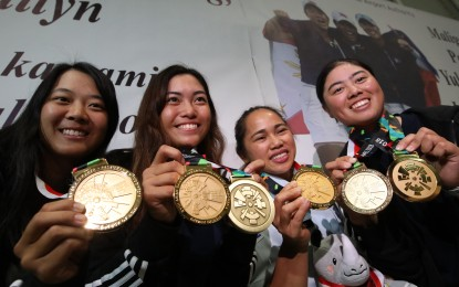 PH Asian Games gold medalists receive Php2 million add'l incentive