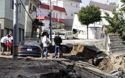 Earthquake jolts Japan after Typhoon Jebi