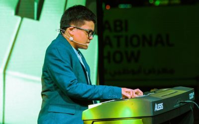 WATCH: Filipino teen of determination's talent shines at the Abu Dhabi International Boat Show