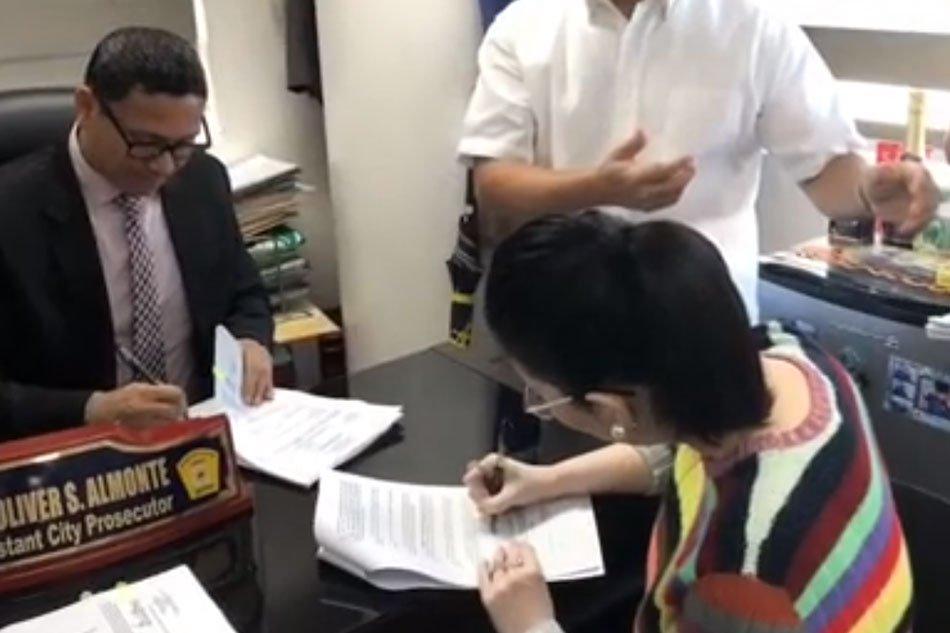 Kris Aquino files theft complaints in 7 cities