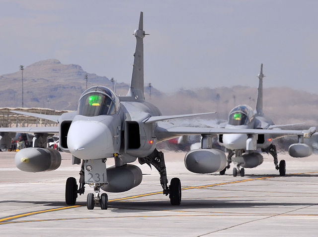 Philippine Air Force likely to acquire Swedish-made fighter jets being used in Middle East