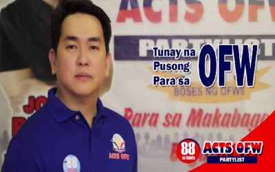 """OFW group says solon in NAIA viral video is """"fake representative of OFWs"""""""