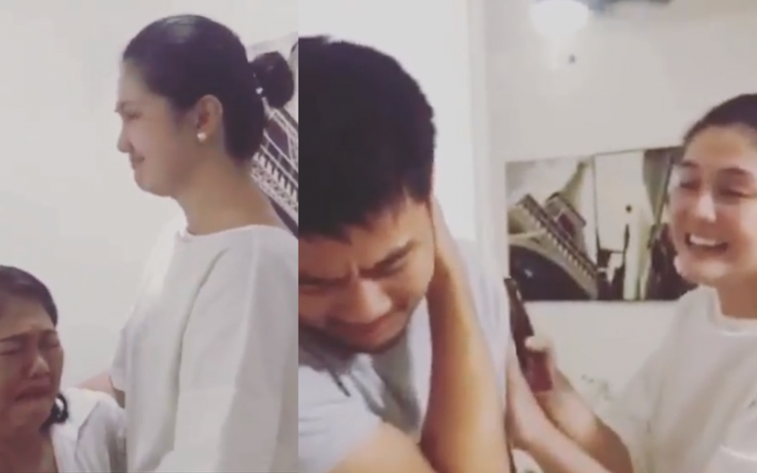 WATCH: Dimples Romana surprises mom, siblings with new house