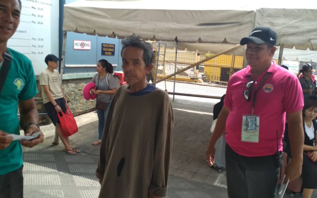 Scavenger tries to swim from Cebu to Bohol to visit parents' graves