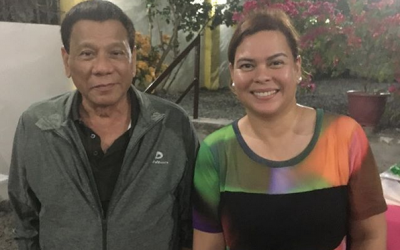 Sara Duterte comments on her father's health condition