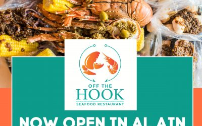Off the Hook now open in Al Ain, to open 2 more branches in Abu Dhabi this 2018
