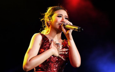 What is happening to Morissette Amon's voice?