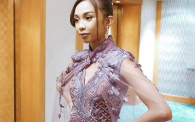LOOK: Maymay Entrata's 2nd Furne One gown she wore during ABS-CBN Ball after party